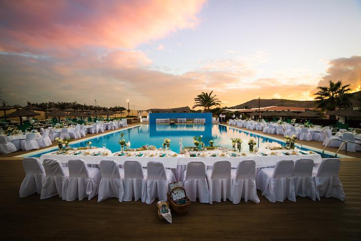 Vila Baleira Resort - Casamento junto da piscina
