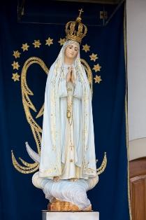 Fátima, imagem de Nossa Senhora, Capelinha das Aparições - Direitos Reservados