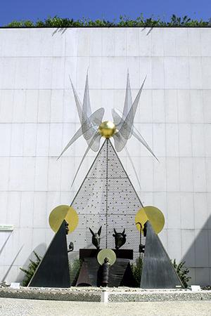 Fátima, presépio do escultor José Aurelio - Direitos Reservados