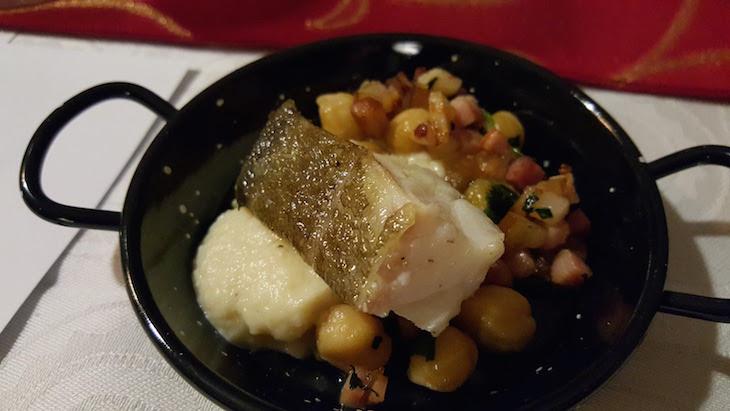 Bacalhau no Feeling Grape - Oporto Wine & Food Atelier © Viaje Comigo