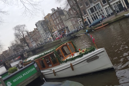 Barco Tourist, Amesterdão © Viaje Comigo