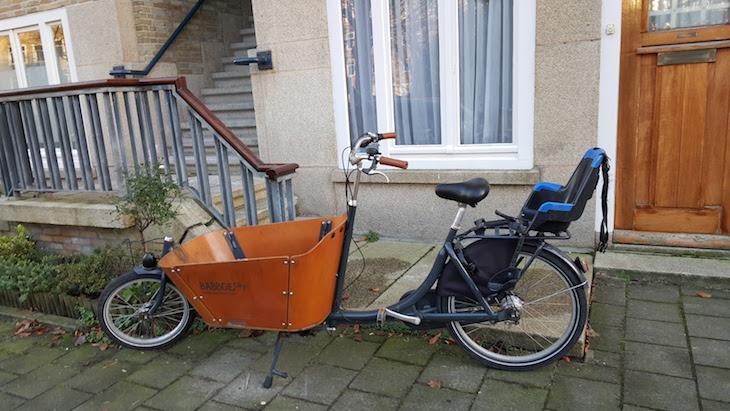 Bicicletas para levar crianças, Amesterdão © Viaje Comigo