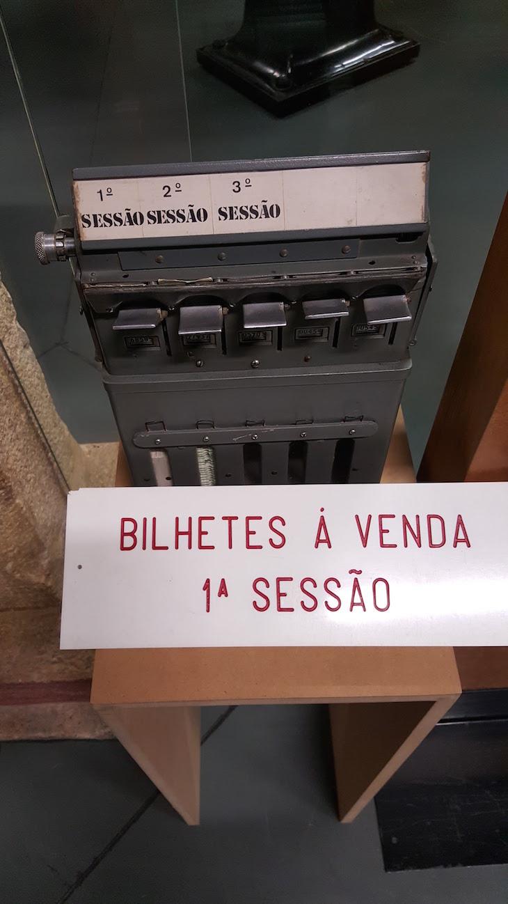 Bilheteira de cinema no MiMO - Museu da Imagem em Movimento, Leiria © Viaje Comigo