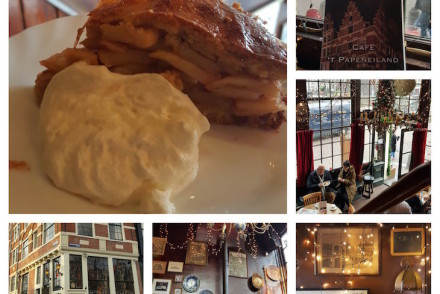 Cafe Papeneiland no Eating Amsterdam Tour © Viaje Comigo