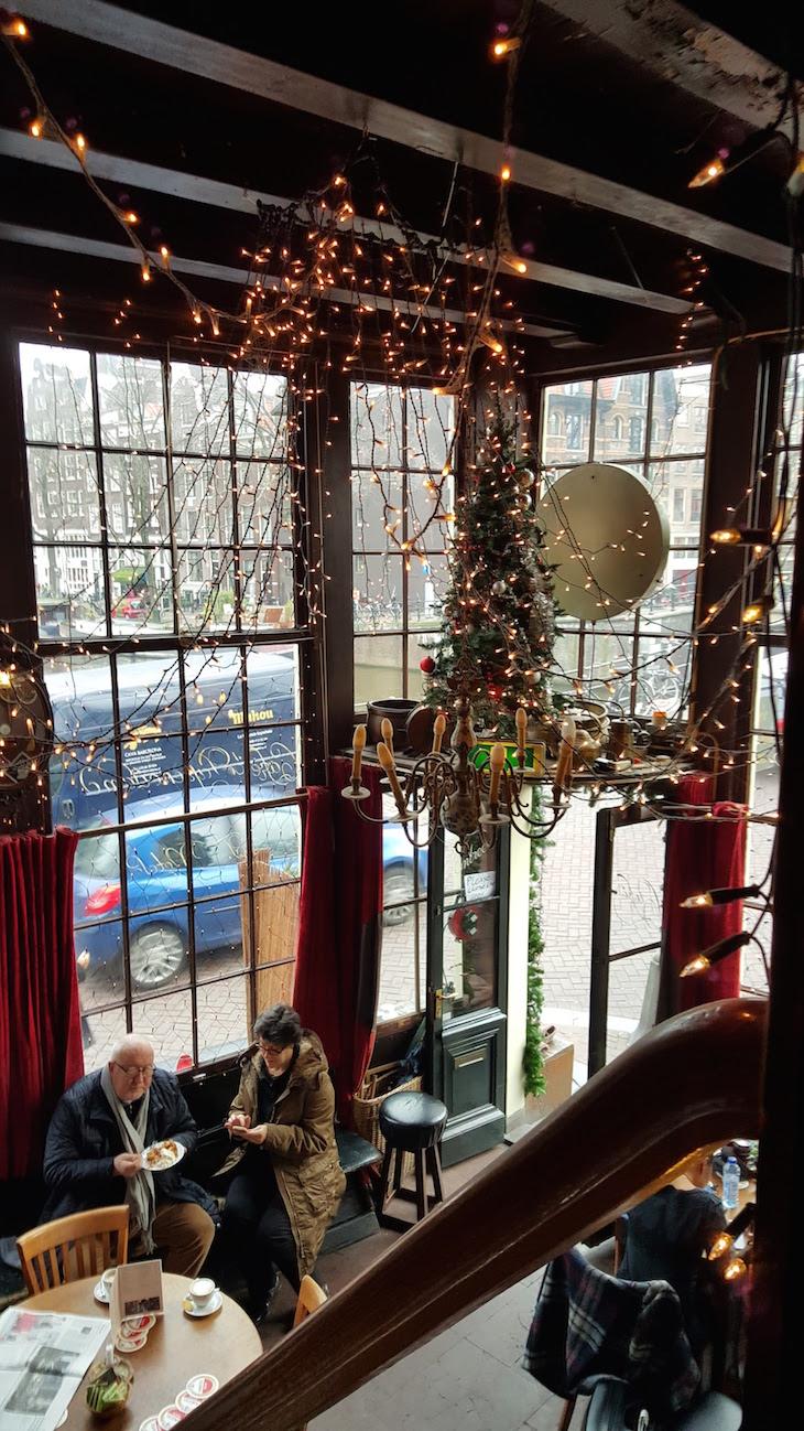 Cafe Papeneiland, Amesterdão © Viaje Comigo