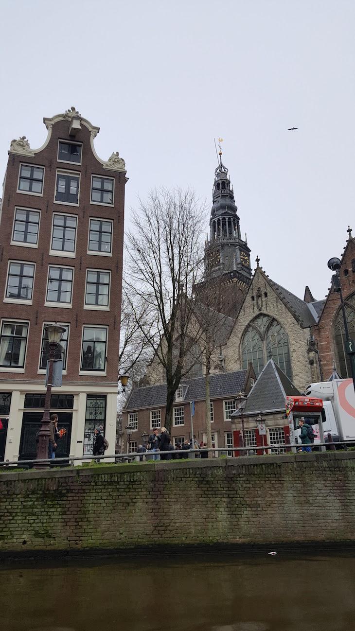 No Canal Tour Eating Amsterdam em Amesterdão © Viaje Comigo