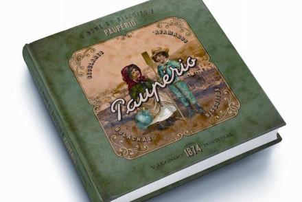 Capa do livro da Paupério © Fotografia Ricardo Meireles