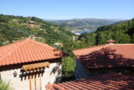 Casinhas e vista da Quinta da Bouça © Viaje Comigo