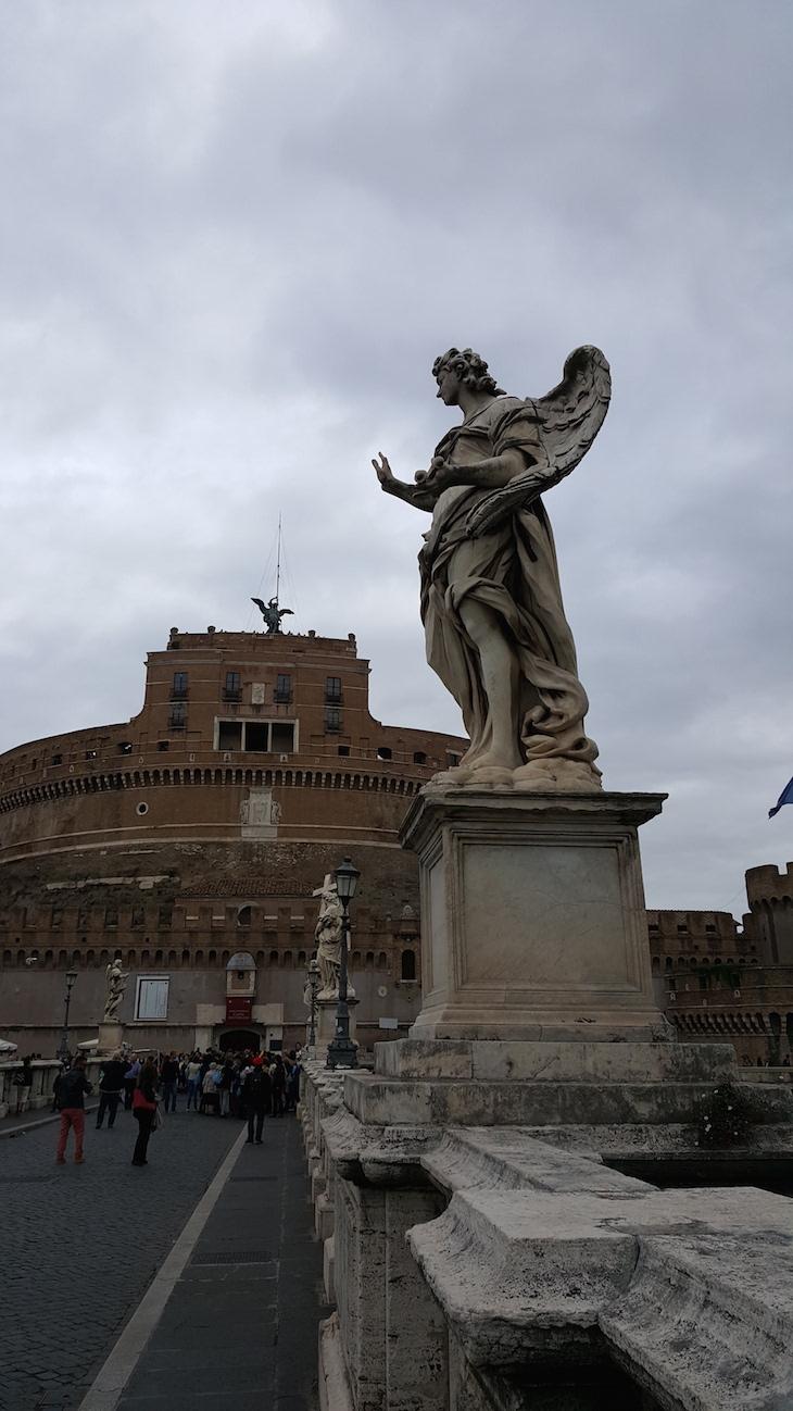 Castelo de St Ângelo, Roma © Viaje Comigo