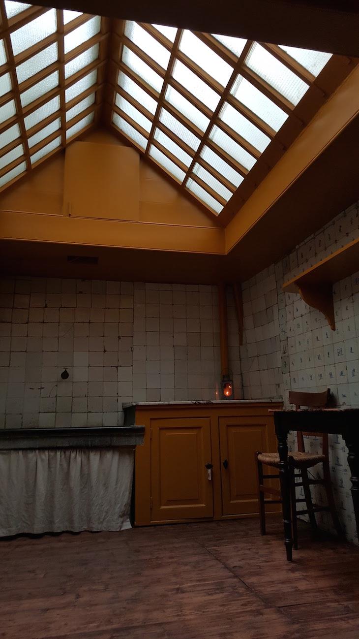 Cozinha da Ons' Lieve Heer op Solder em Amesterdão © Viaje Comigo