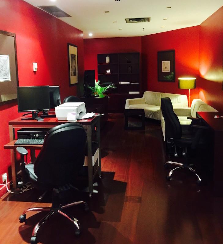 Business center, no Crowne Plaza Porto