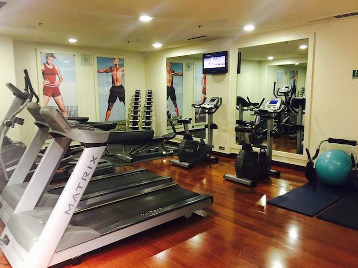 Crowne Plaza, fitness center