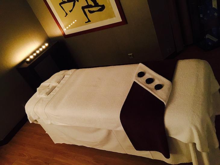 The 1423 Wellness Lounge, no Crowne Plaza © Viaje Comigo