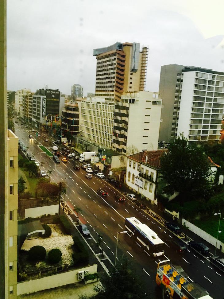 Vista para a Avenida da Boavista, Crowne Plaza Porto © Viaje Comigo