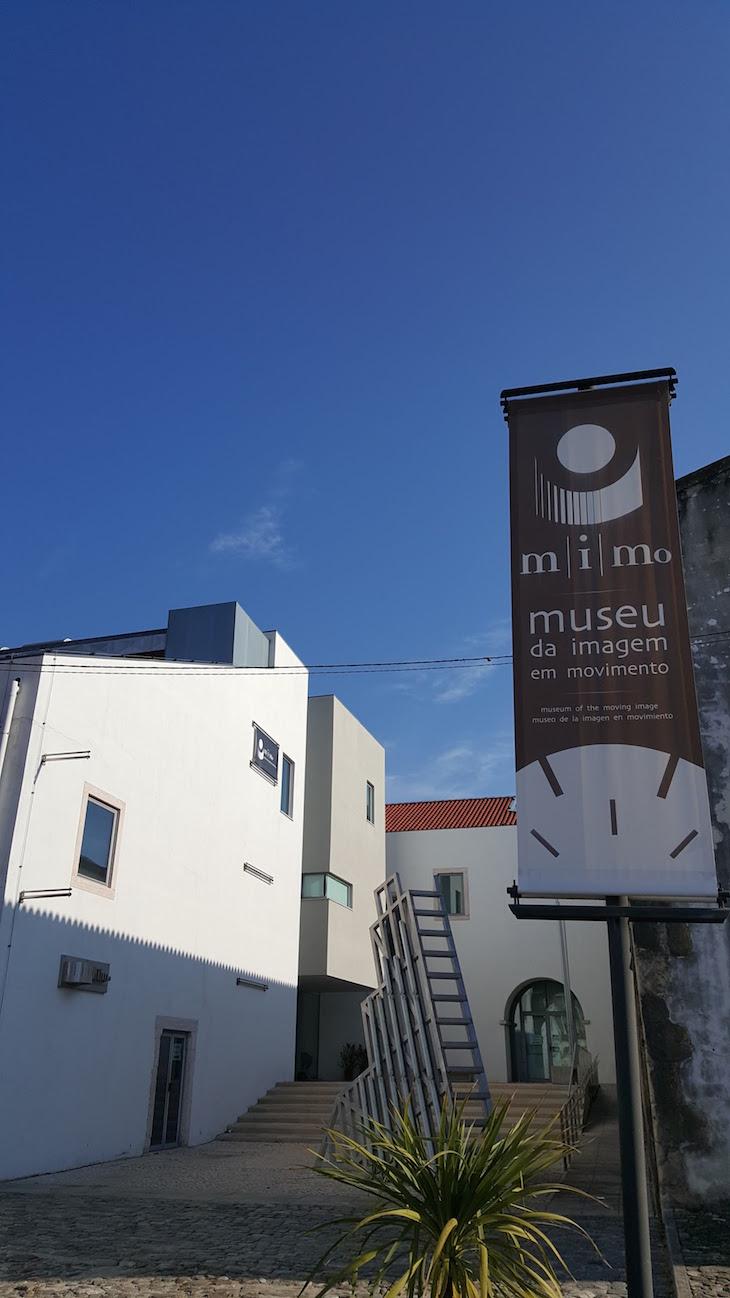 Entrada do MiMO - Museu da Imagem em Movimento, Leiria