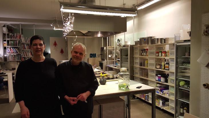 Eric e Marjolein do De Culinaire Werkplaats Amesterdão © Viaje Comigo