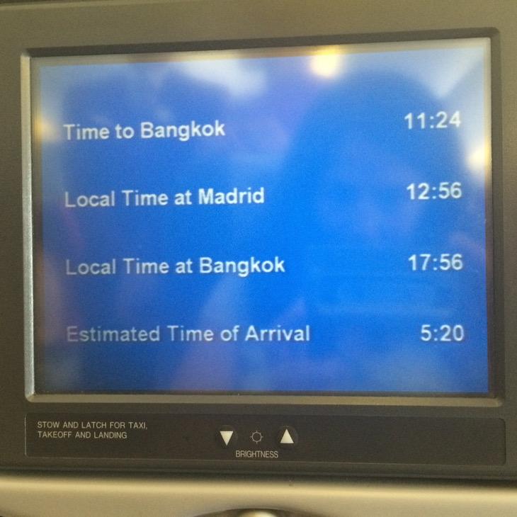 Horas de voo no avião © Viaje Comigo