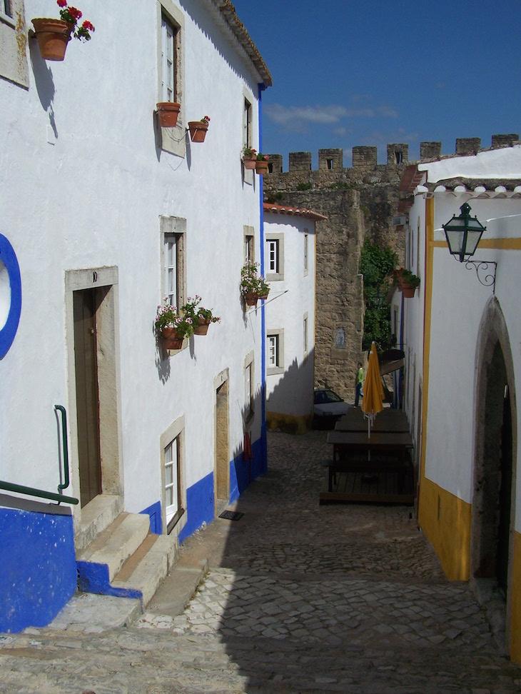 Interior da muralha de Óbidos © Viaje Comigo