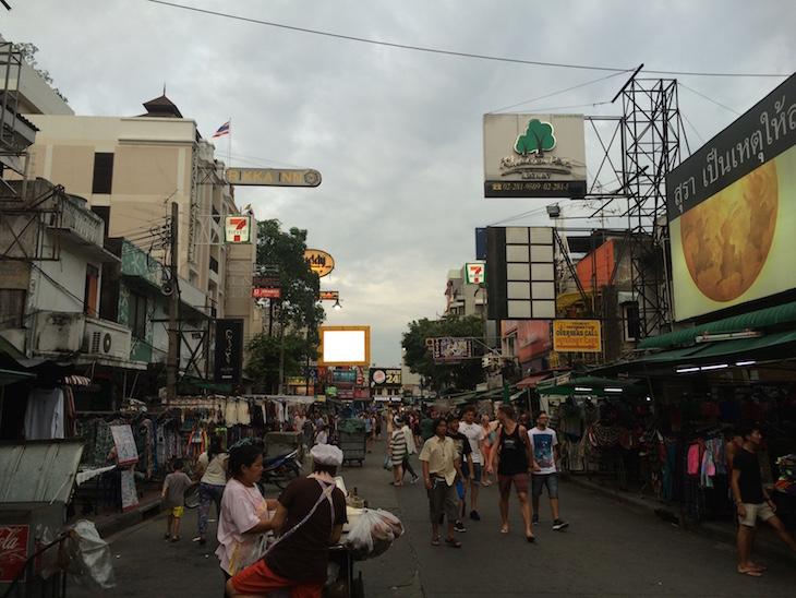 Kao San Road, Banguecoque - Tailândia © Viaje Comigo