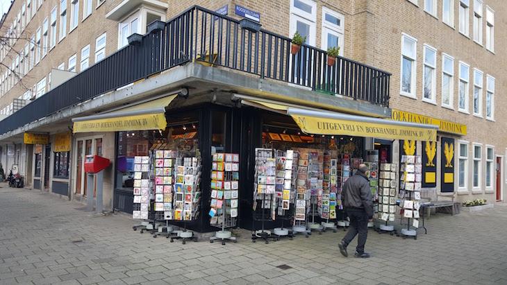 Livraria (Boekhandel) Jimmink - Amesterdão © Viaje Comigo