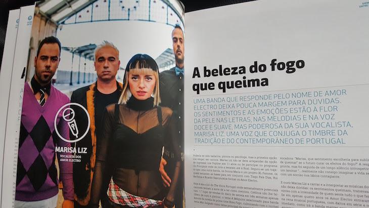 Marisa Liz na revista Siemens © Viaje Comigo