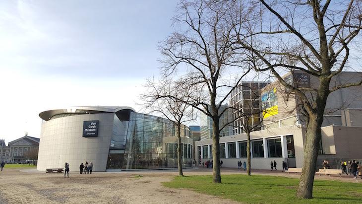 Museu Van Gogh em Amesterdão © Viaje Comigo