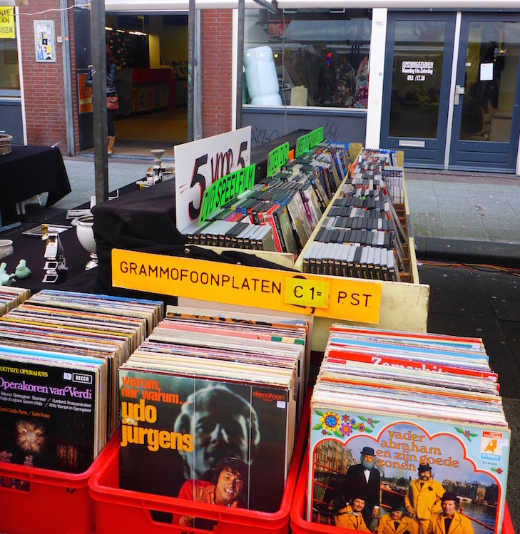 Música no Albert Cuyp Markt © Viaje Comigo