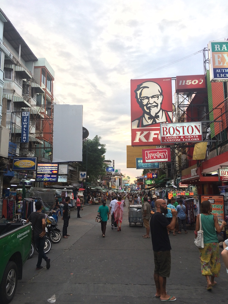 Na Kao San Road, Banguecoque - Tailândia © Viaje Comigo