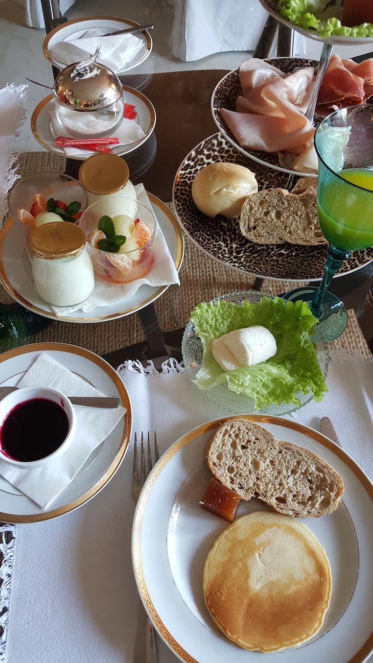 O meu pequeno-almoço do Carmo's Boutique Hotel © Viaje Comigo
