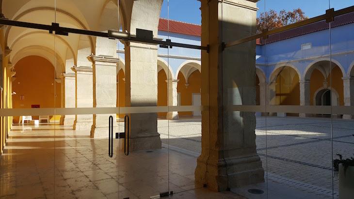 Pátio do Museu de Leiria © Viaje Comigo
