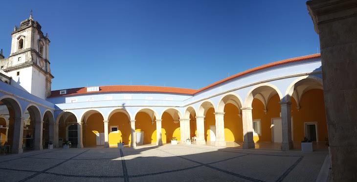 Panorâmica do pátio do Museu de Leiria © Viaje Comigo