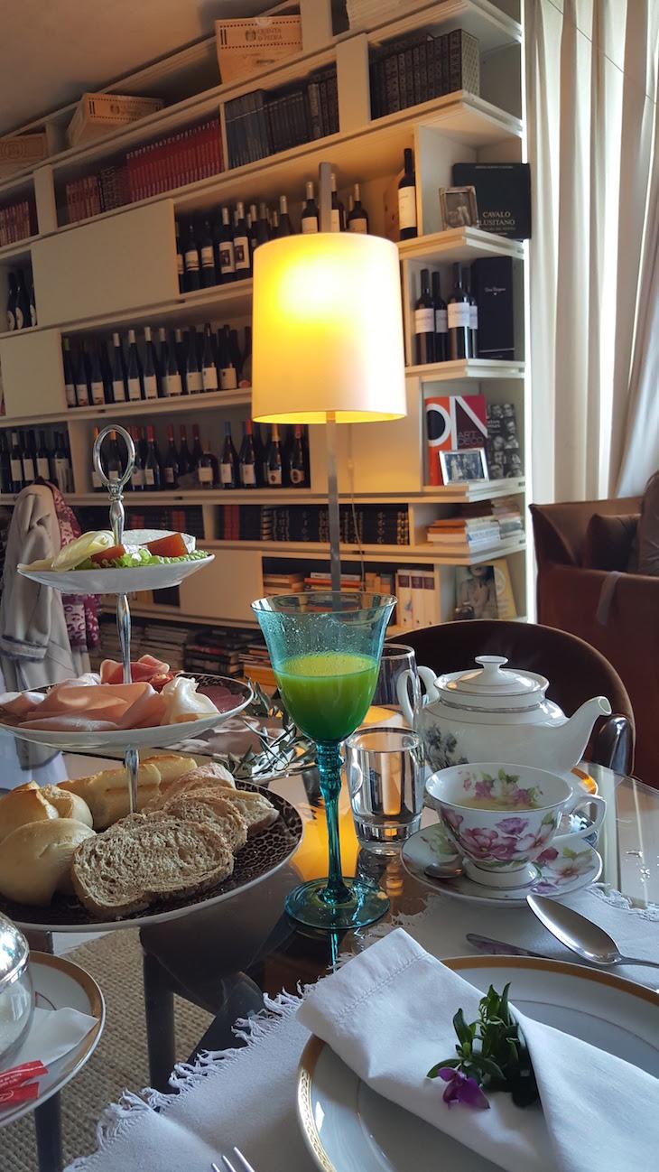 Pequeno-almoço do Carmo's Boutique Hotel © Viaje Comigo