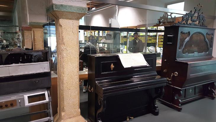 Pianos no MiMO - Museu da Imagem em Movimento, Leiria © Viaje Comigo