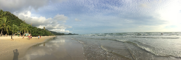 Praia em Ko Chang © Viaje Comigo