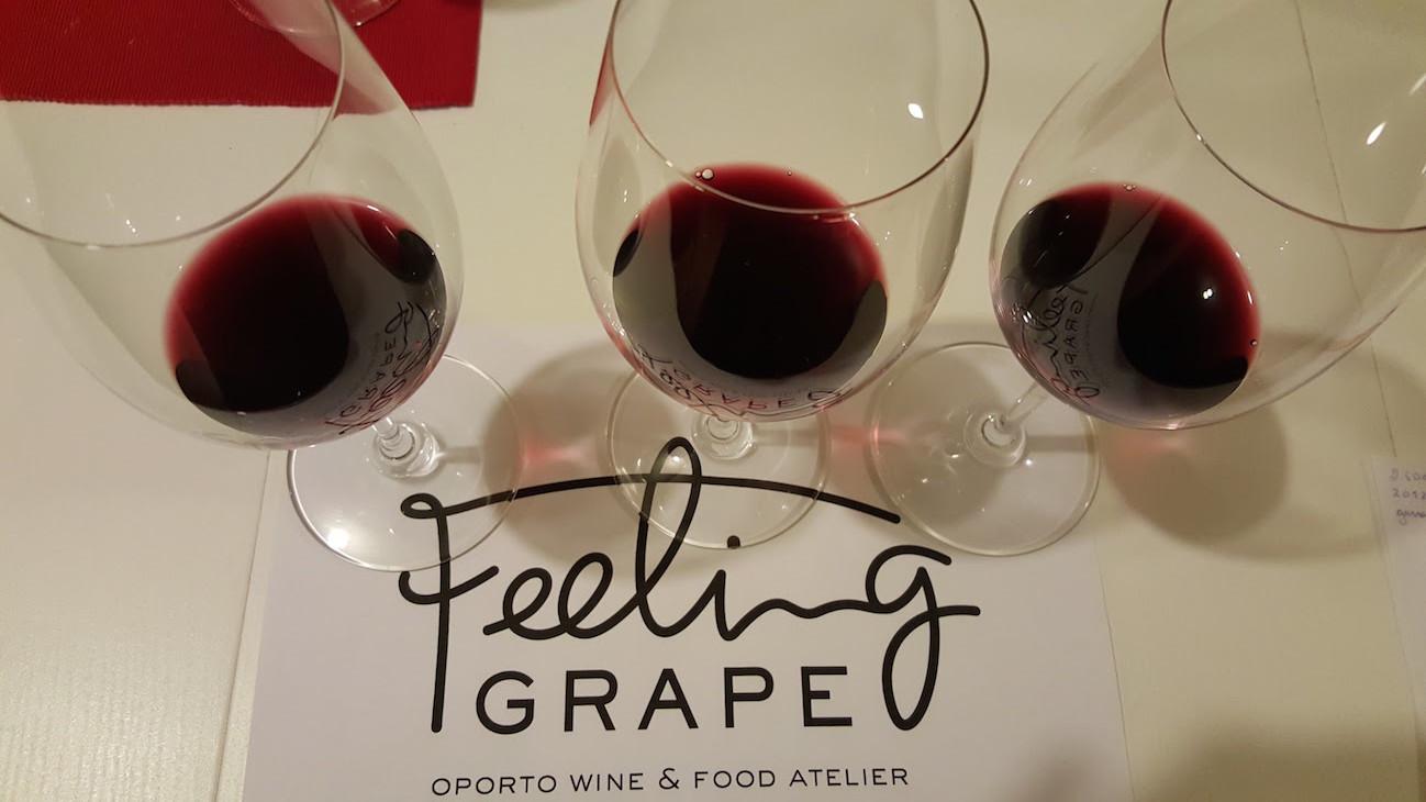Provas no Feeling Grape © Viaje Comigo