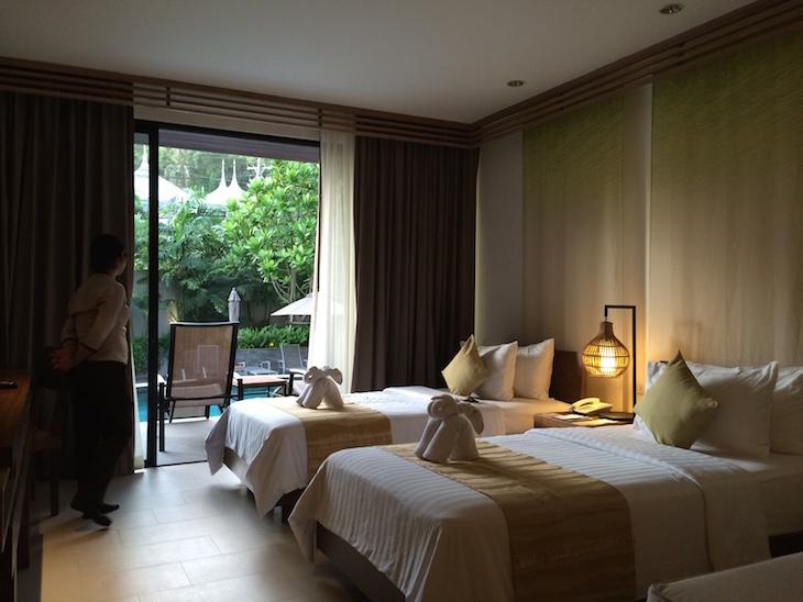 Quarto do Grande Resort & Spa em Ko Chang © Viaje Comigo