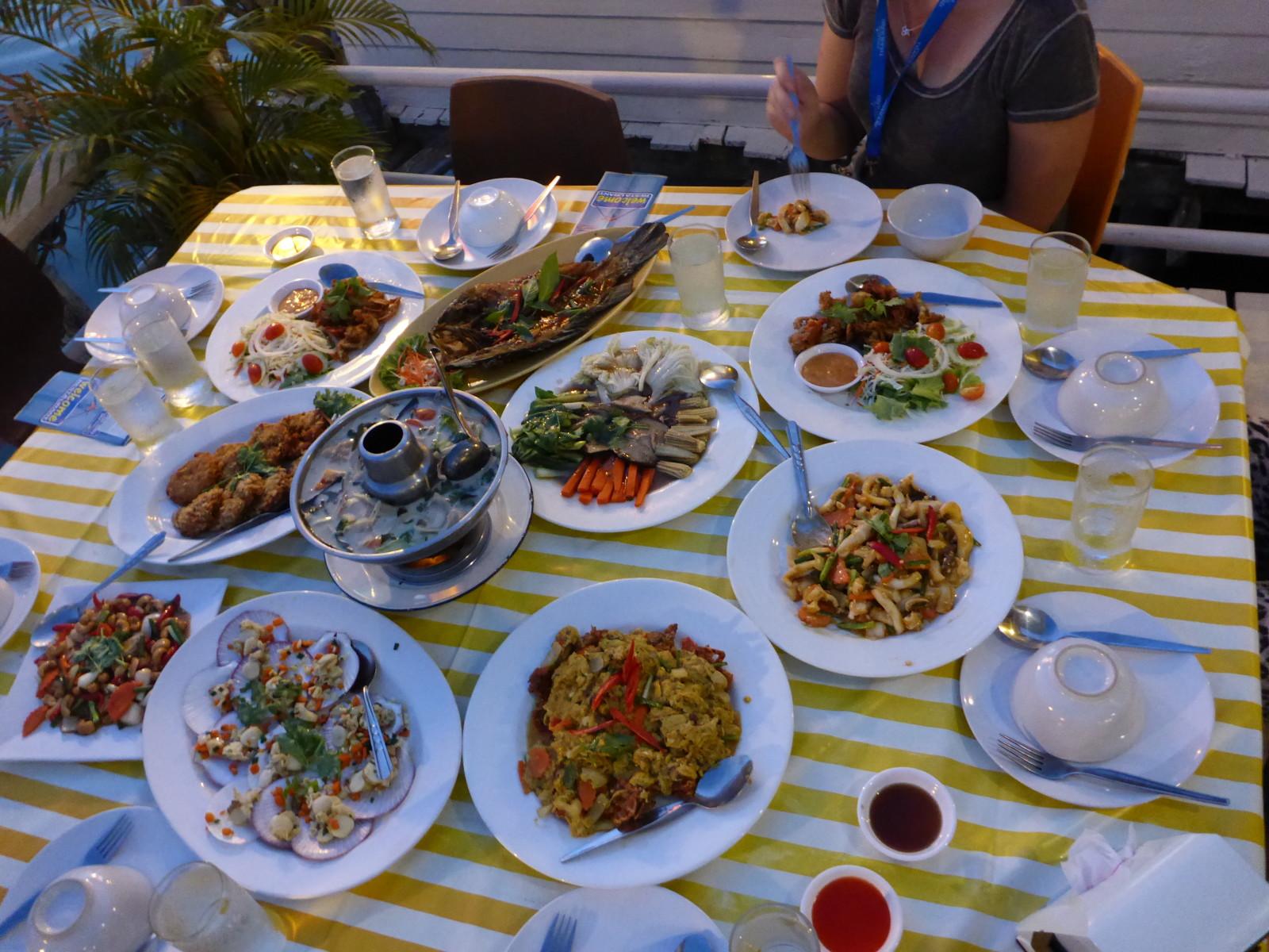 Restaurante Phu Talay Ko Chang © Viaje Comigo