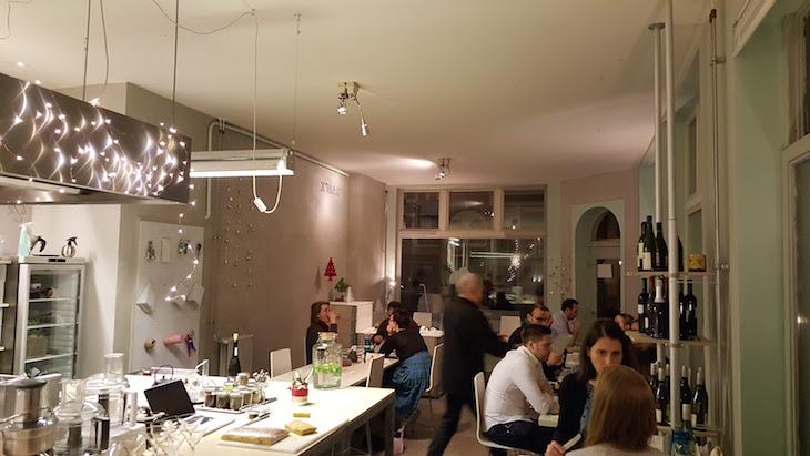 Sala do De Culinaire Werkplaats Amesterdão © Viaje Comigo
