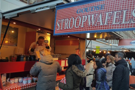 Stroopwafels no Albert Cuyp Markt © Viaje Comigo