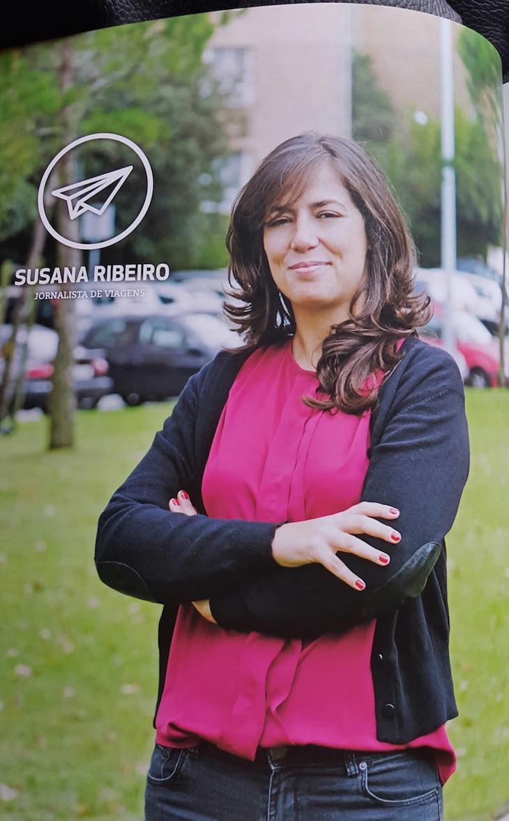 Susana Ribeiro na revista Siemens © Viaje Comigo