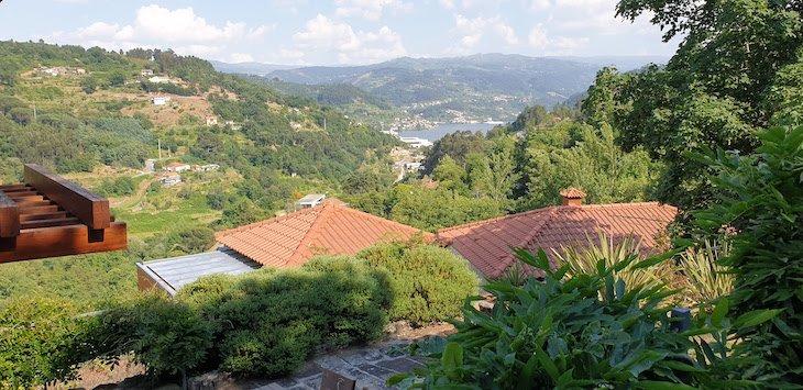 Vista da Quinta da Bouça Agroturismo- Marco Canaveses - Portugal © Viaje Comigo