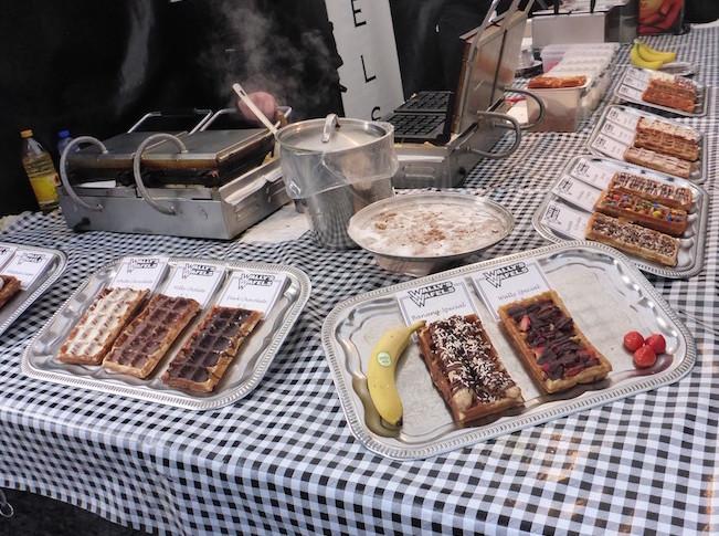 Wafels no Albert Cuyp Markt © Viaje Comigo