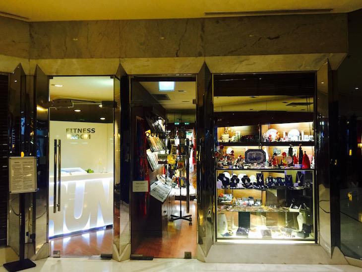 Loja no Crowne Plaza Porto