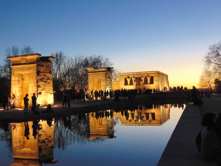 Templo de Debod © Esto es Madrid, Madrid!
