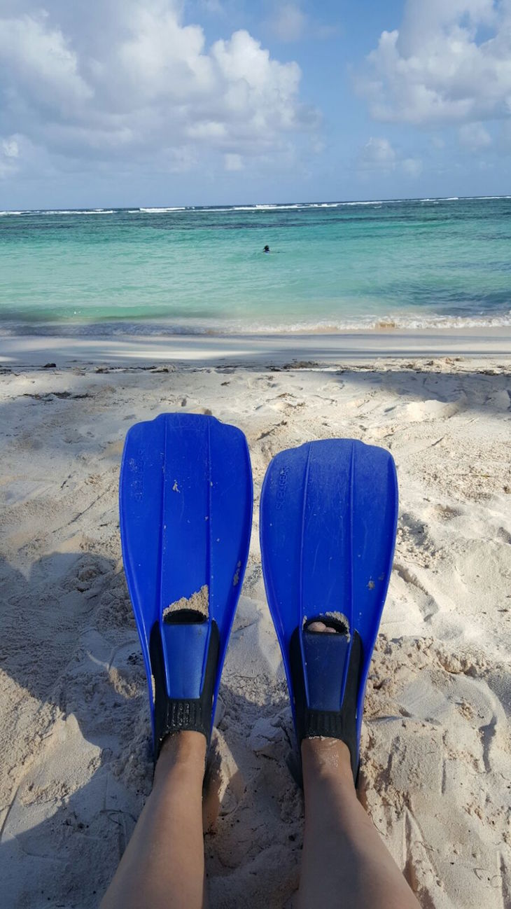 Snorkel no Club Med Punta Cana © Viaje Comigo