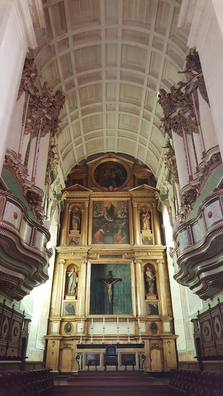 Interior da Sé de Leiria © Viaje Comigo