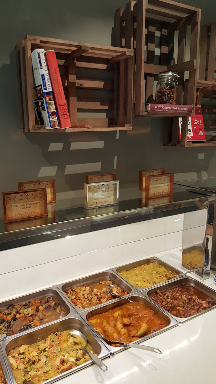 Restaurante Mundo de Sabores, no World of Discoveries © Viaje Comigo