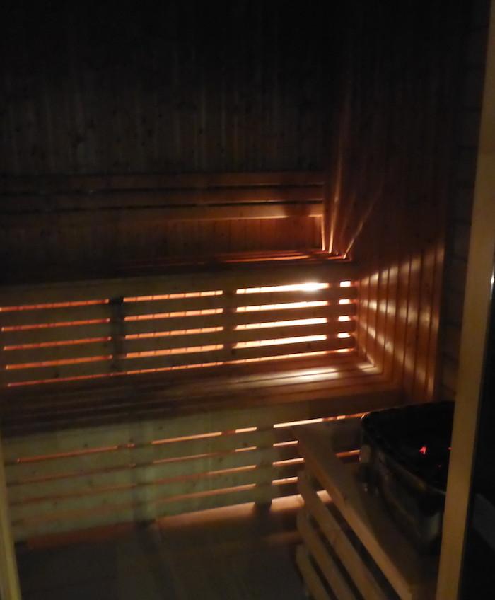 Sauna no El Spa - Health Club & Spa do Tryp Lisboa Aeroporto Hotel © Viaje Comigo