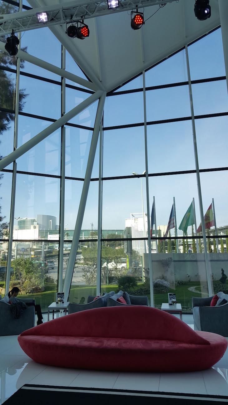 Vista da receção do Tryp Aeroporto Lisboa © Viaje Comigo