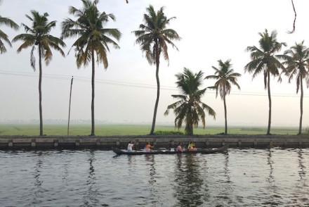Kerala Backwaters © Viaje Comigo